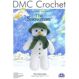 DMC Crochet - The Snowman by Raymond Briggs