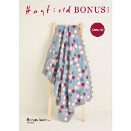 S10126 Crochet Blanket in Hayfield Bonus Aran