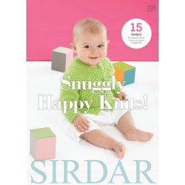 Sirdar Book 520 - Snuggly Happy Knits