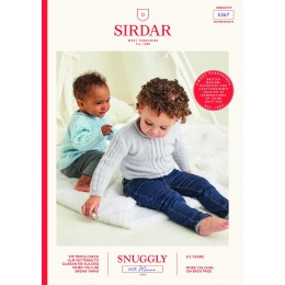 S5367 Children's Sweaters in Sirdar Snuggly 100% Merino 4Ply