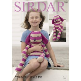 S7939 Rabbit Soft Toy in Sirdar Country Style DK