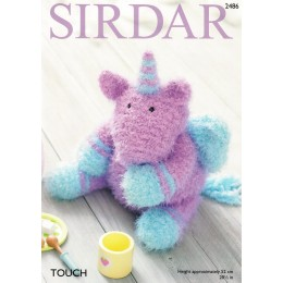 S2486 Toy Unicorn in Sirdar Touch Super Chunky