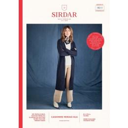 S10211 Women's Longline Cardigan in Sirdar Cashmere Merino Silk DK