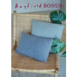 S10254 Cushion Covers in Hayfield Bonus DK