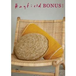 S10256 Crochet Cushions in Hayfield Bonus DK