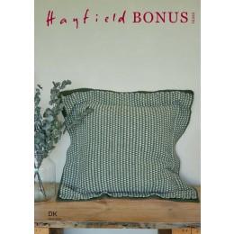 S10262 Crochet Linen Stitch Floor Cushion in Hayfield Bonus DK
