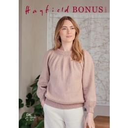 S10271 Ladies Sweater in Hayfield Bonus DK