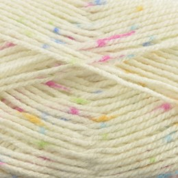 Sirdar Supersoft Aran Rainbow Drops 100g
