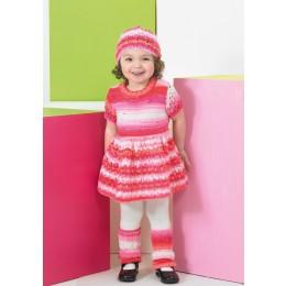 St8742 Children's Tunic, Hat and Leg Warmers Wondersoft Merry Go Round