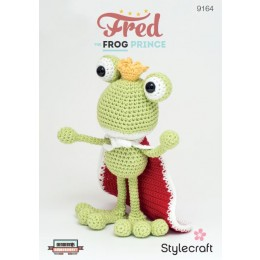 St9164 Fred the Frog Prince Classique Cotton DK