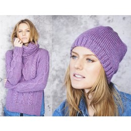 St9661 Ladies Sweater, Snood & Hat in Stylecraft Special Aran with Wool