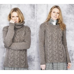 St9662 Ladies Sweater & Snoods in Stylecraft Special Aran with Wool