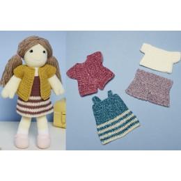 St9667 Crochet Jessie the Doll Toy in Stylecraft Special DK & Bellissima DK