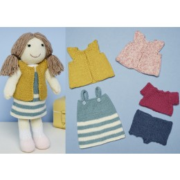 St9668 Knitted Jessie the Doll Toy in Stylecraft Special DK & Bellissima DK