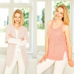 ST9777 Women's Cardigan & Vest in Stylecraft Pearls DK