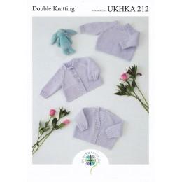 UKHKA212 Babies Sweater & Cardigans in DK