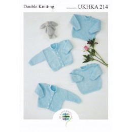 UKHKA214 Sweaters & Cardigans for Babies in DK