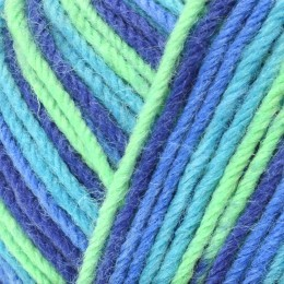 West Yorkshire Spinners Aire Valley Cocktails DK 100g Blue Lagoon 831