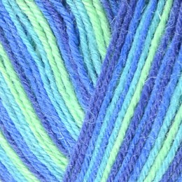 West Yorkshire Spinners Signature Cocktails 4Ply 100g Blue Lagoon 831