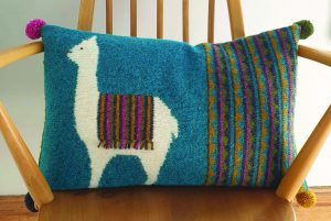 alpaca cushion rowan