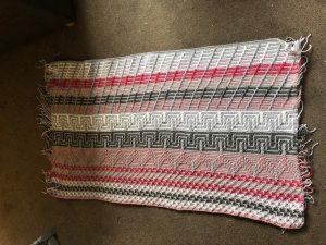 Mosaic blanket weeks 1-3