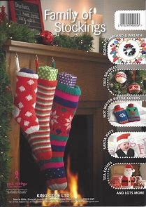 king cole stocking pattern