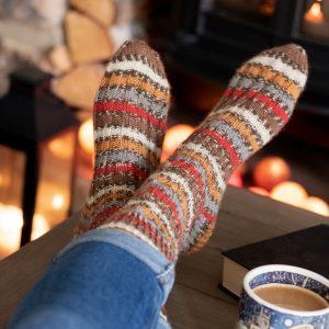 winwick robin yarn socks
