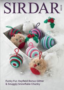Sirdar Christmas baubles